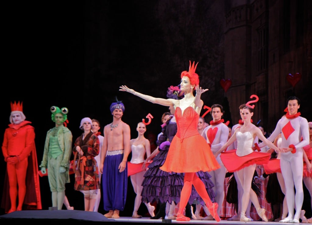 alice and the red queen ballet costume
